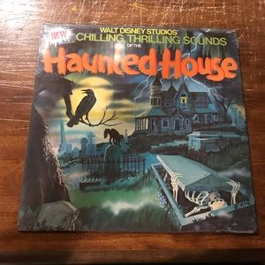 DisneyLand Vintage Haunted House Sounds Vinyl LP